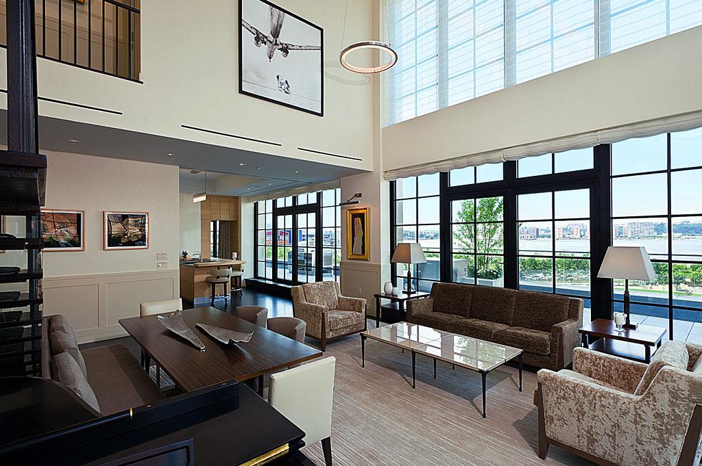 New york loft for Modern interior design new york